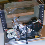 Maisto Harley Davidson FLSTS Heritage Springer 1:18 SCALE MODEL BIKE